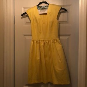 Yellow French Connection Dress